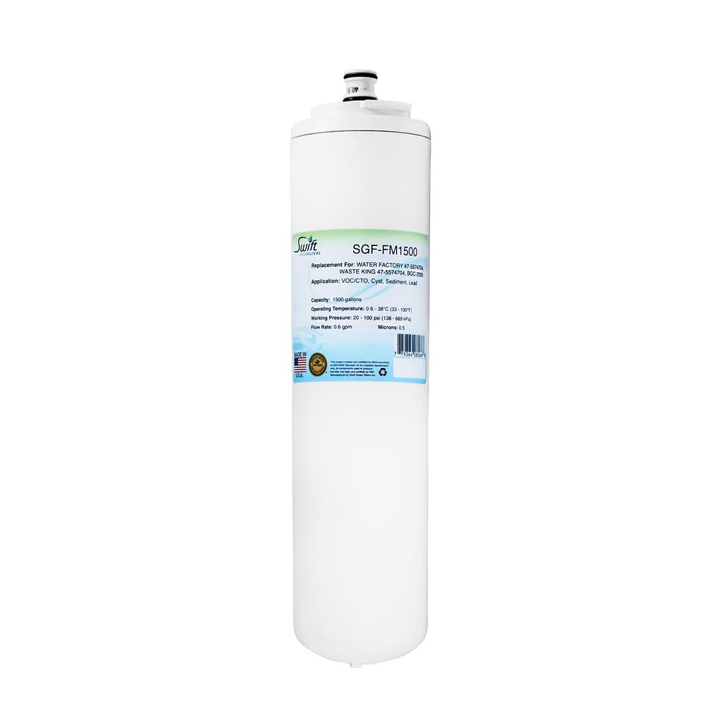 Swift Green Filters SGF-FM1500 Replacement Water Filter for Water Factory 47-5574704