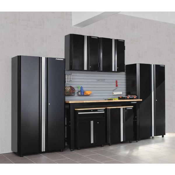 Husky Ready To Assemble 24 Gauge Steel, Garage Storage Wall Cabinets Home Depot