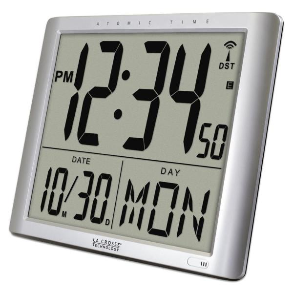 Extra Large Digital Atomic Wall Clock