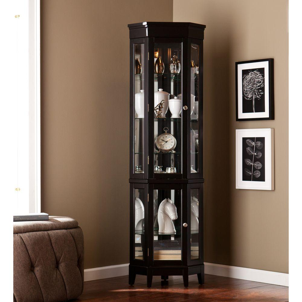 Display Cabinets - Kitchen & Dining Room Furniture - The Home Depot