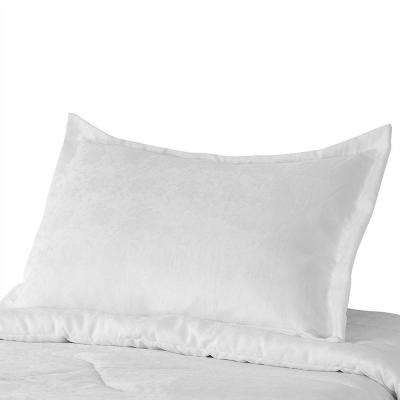 Most Comfortable Pillow Cases Certified Organic Cotton White Super Soft Breathable 3 in. Fringe and Overlap Construction