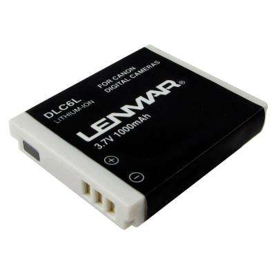 Lithium-Ion 1000mAh/3.7-Volt Digital Camera Replacement Battery