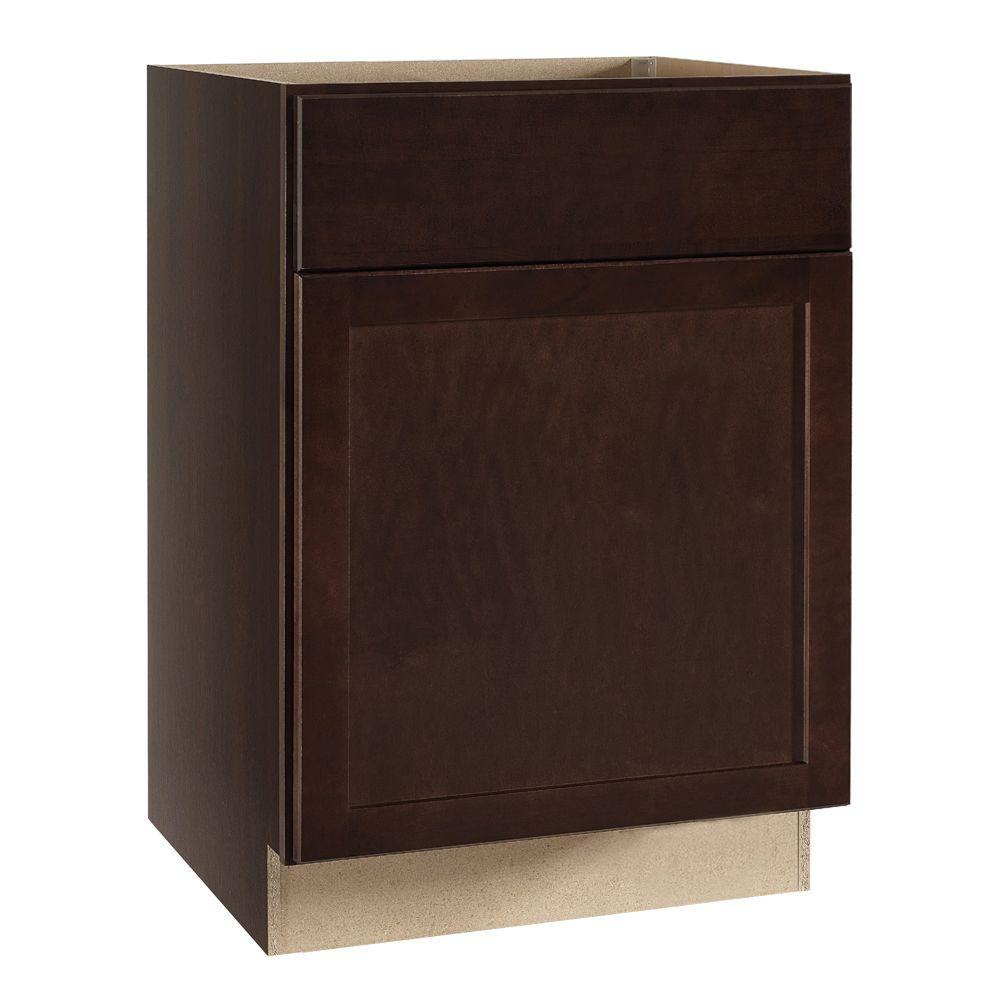 Assembled 24x34 5x24 In Drawer Base Kitchen Cabinet In: Hampton Bay Shaker Assembled 24x34.5x24 In. Base Kitchen