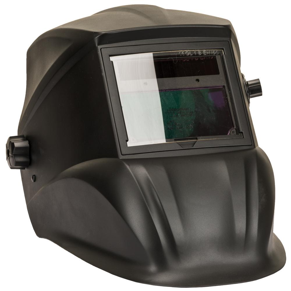 Advantage Series Black Matte Auto-darkening Welding Helmet