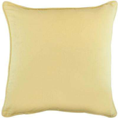 American Colors Reversible Wheat Gold Pillow