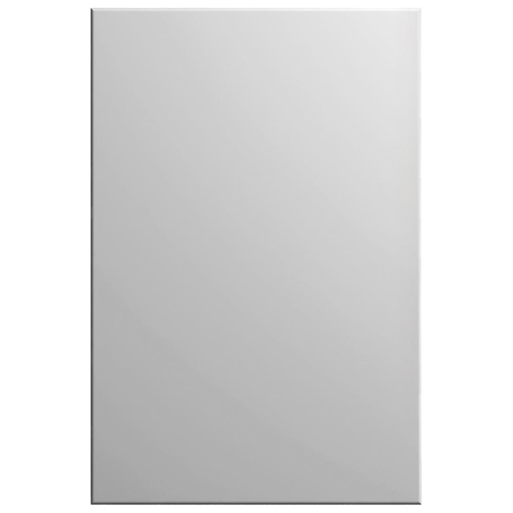 Hampton Bay Designer Series 11x15 In. Edgeley Cabinet Door Sample In Matte  White