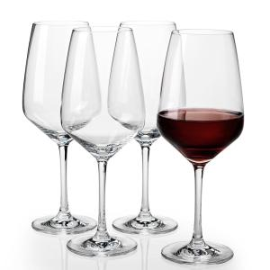 Click here to buy Villeroy & Boch Voice Basics 16.75 fl. oz. Crystal Red Wine Glasses (4-Pack) by Villeroy & Boch.