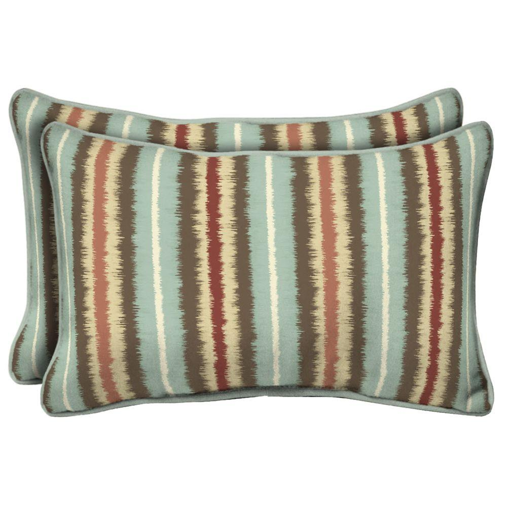 pillow Striped rectangular