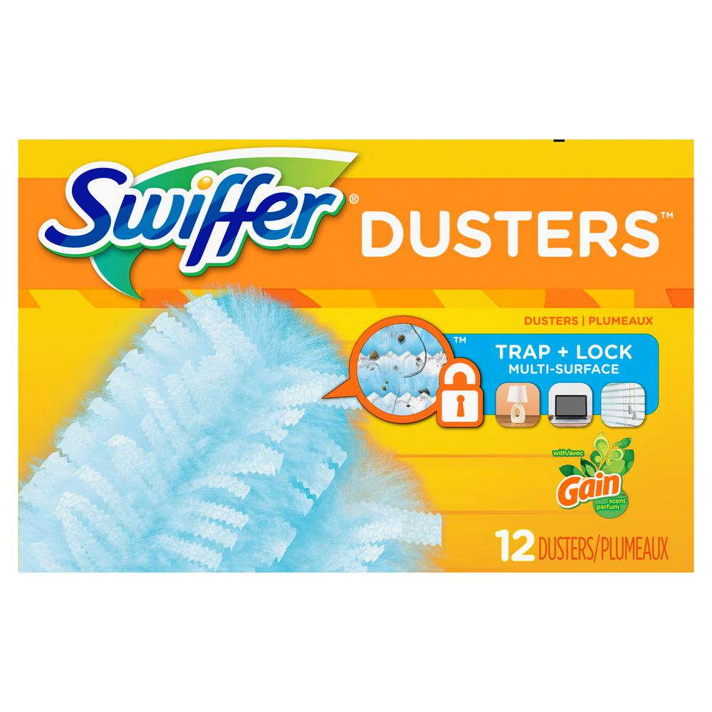 Swiffer Dusters Disposable Refills with Original Gain Scent (12-Count)