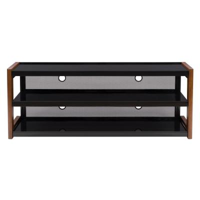 Milan 60 in. Nutmeg Wood TV Stand Fits TVs Up to 68 in. with Cable Management