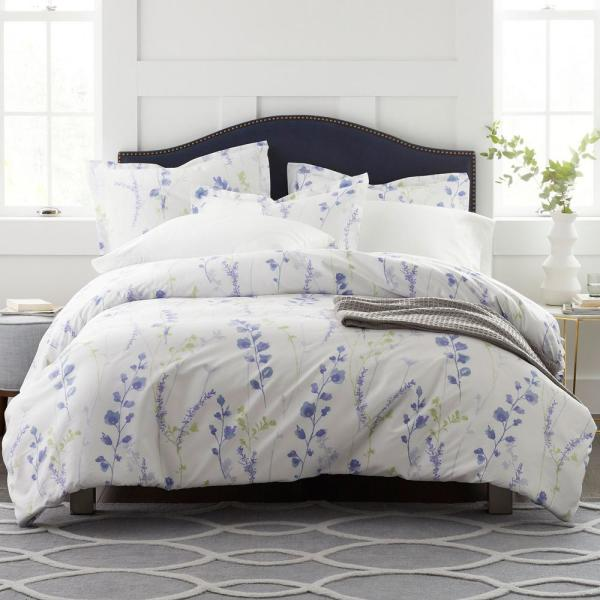 The Company Store Penfield Floral Sateen King Duvet Cover 50258D-K-MULTI