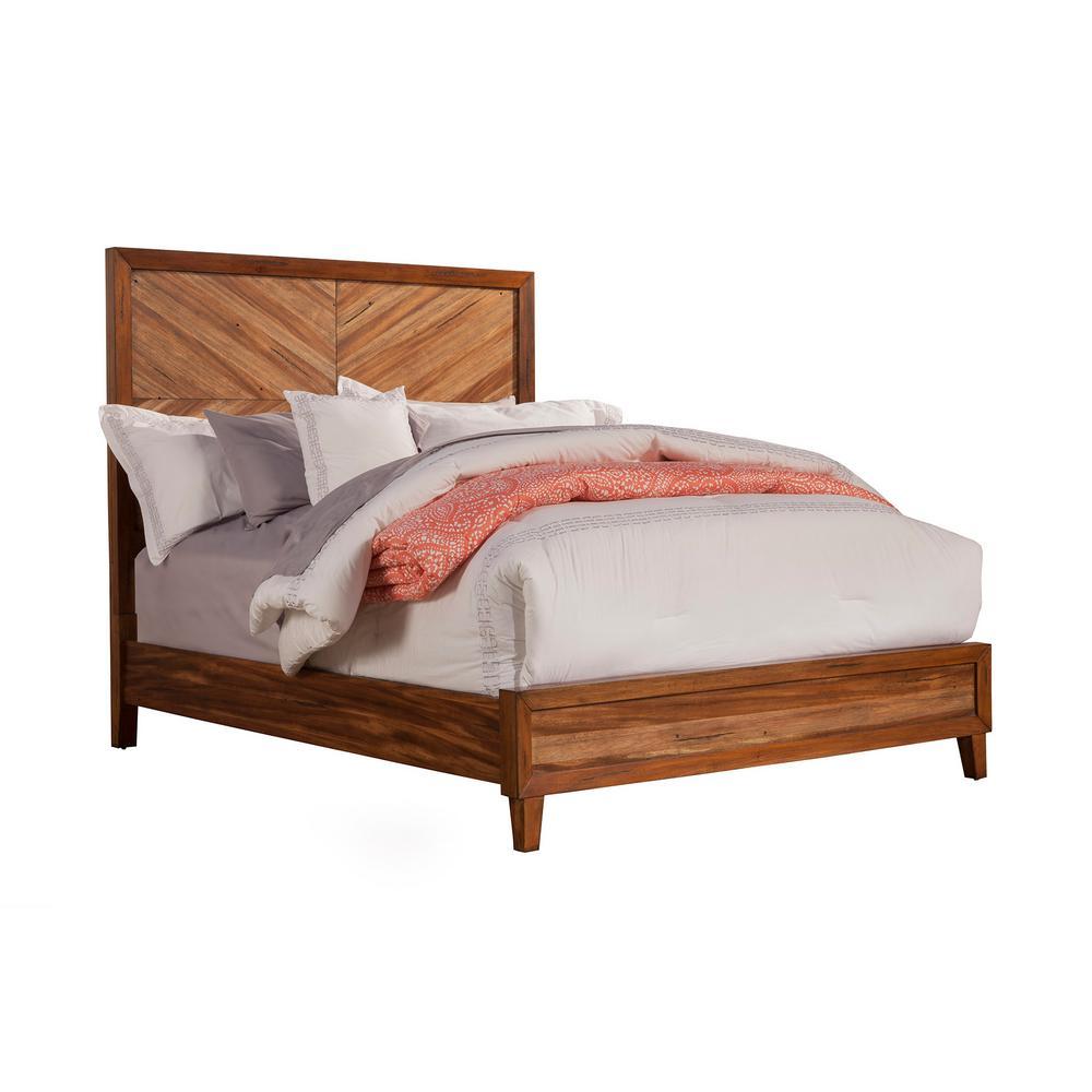 Trinidad Toffee Queen Panel Bed