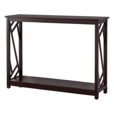 Cherry Entryway Console Table