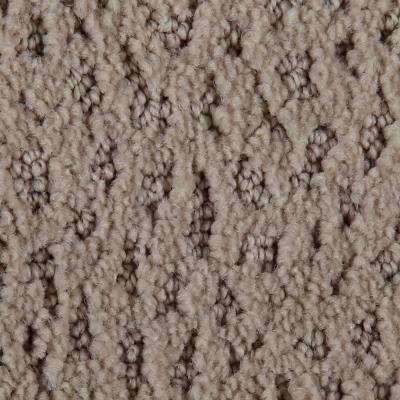 Carpet Sample - Hopeful Wishes - Color Sundial Pattern 8 in. x 8 in.