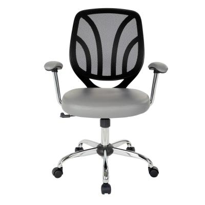 Charcoal Office Chairs Home Office Furniture The Home Depot