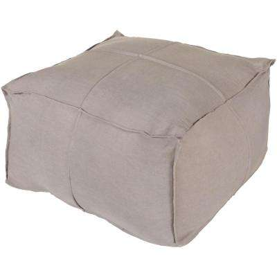 Ixion Medium Gray Accent Pouf
