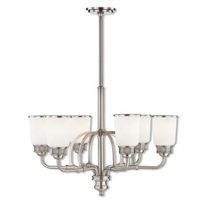 Lawrenceville 6-Light Brushed Nickel Chandelier