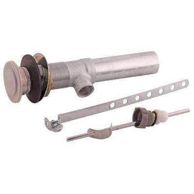 Complete Metal Drain Assembly, Brushed Nickel