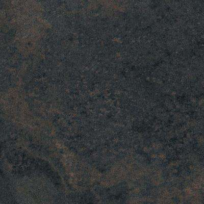 2 in. x 3 in. Laminate Countertop Sample in Rustic Slate with Standard Fine Velvet Texture Finish