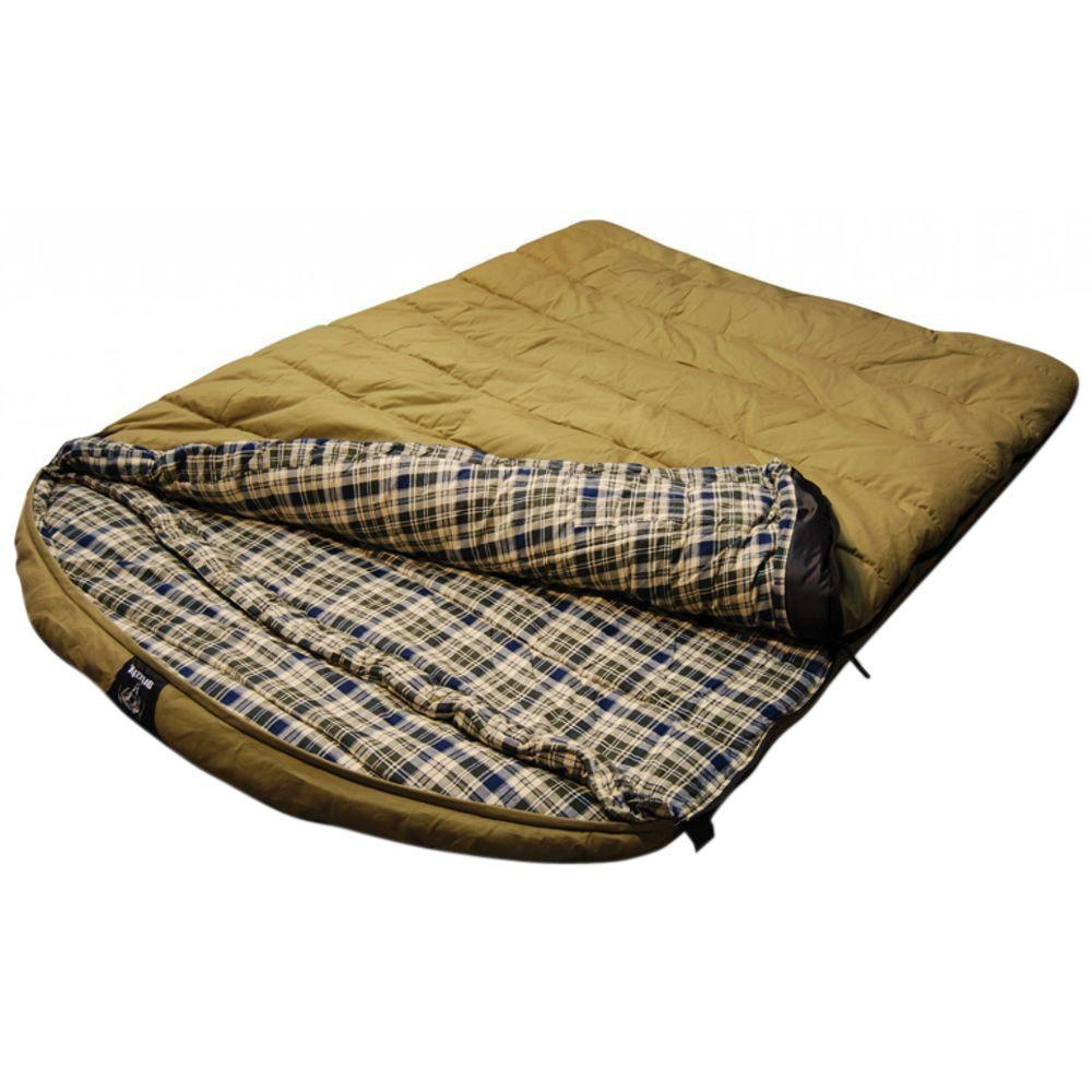 Venetian Worldwide Grizzly Private Label 2 Person 0 F Rated Canvas Sleeping Bag