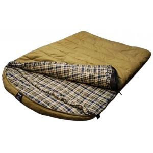 Venetian Worldwide Grizzly Private Label 2-Person +0°F - Rated Canvas Sleeping Bag by Venetian Worldwide