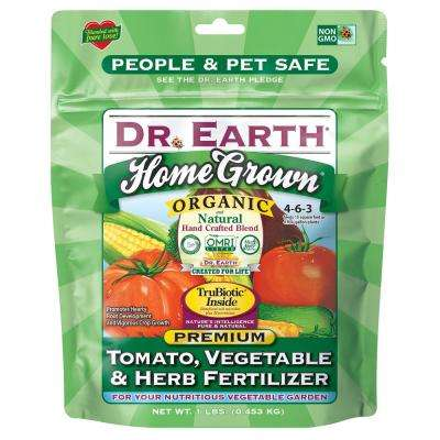 1 lb. 15 sq. ft. Home Grown Tomato, Vegetable and Herb Dry Fertilizer
