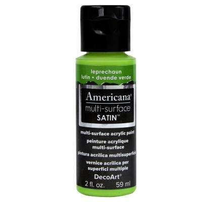 2 oz. Leprechaun Satin Multi-Surface Acrylic Paint