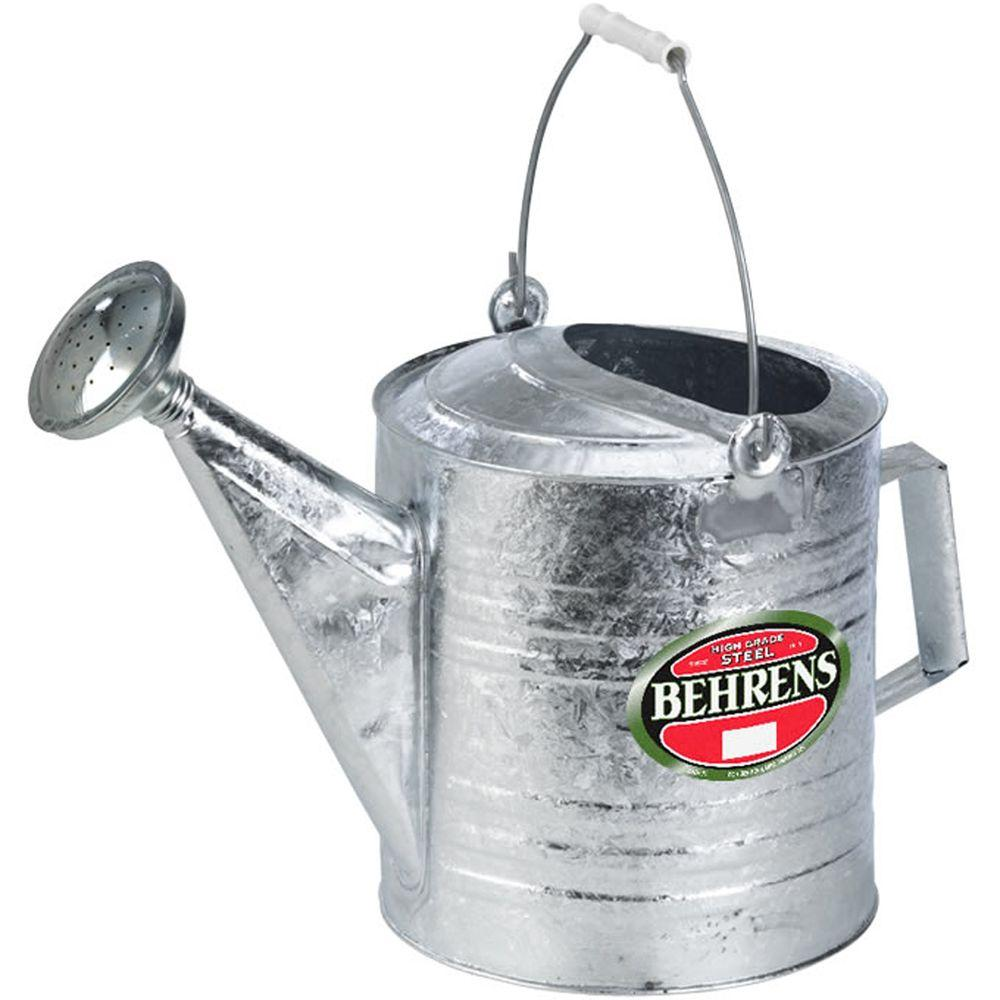 Behrens 3 Gal. Hot Dipped Steel Watering Can