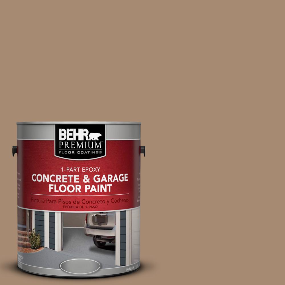 1 gal. #N260-5 Distant Land 1-Part Epoxy Concrete and Garage Floor Paint