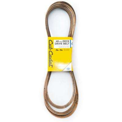 48 in  Deck Drive Belt for Z-Force Mowers with 48 in  Decks Replaces Part #  954-05012/754-05012