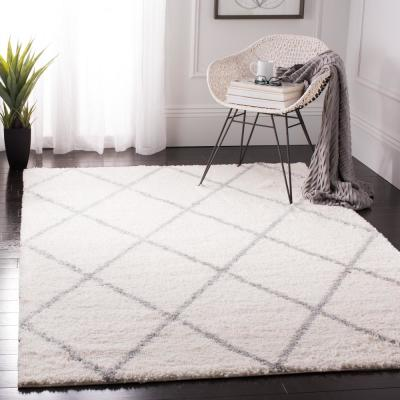 Cream Gray Area Rugs Rugs The Home Depot