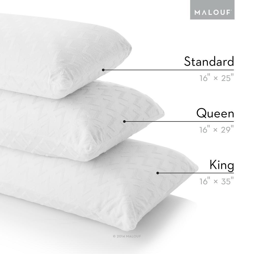 Z Zoned Dough Gel Memory Foam Pillow – High Loft