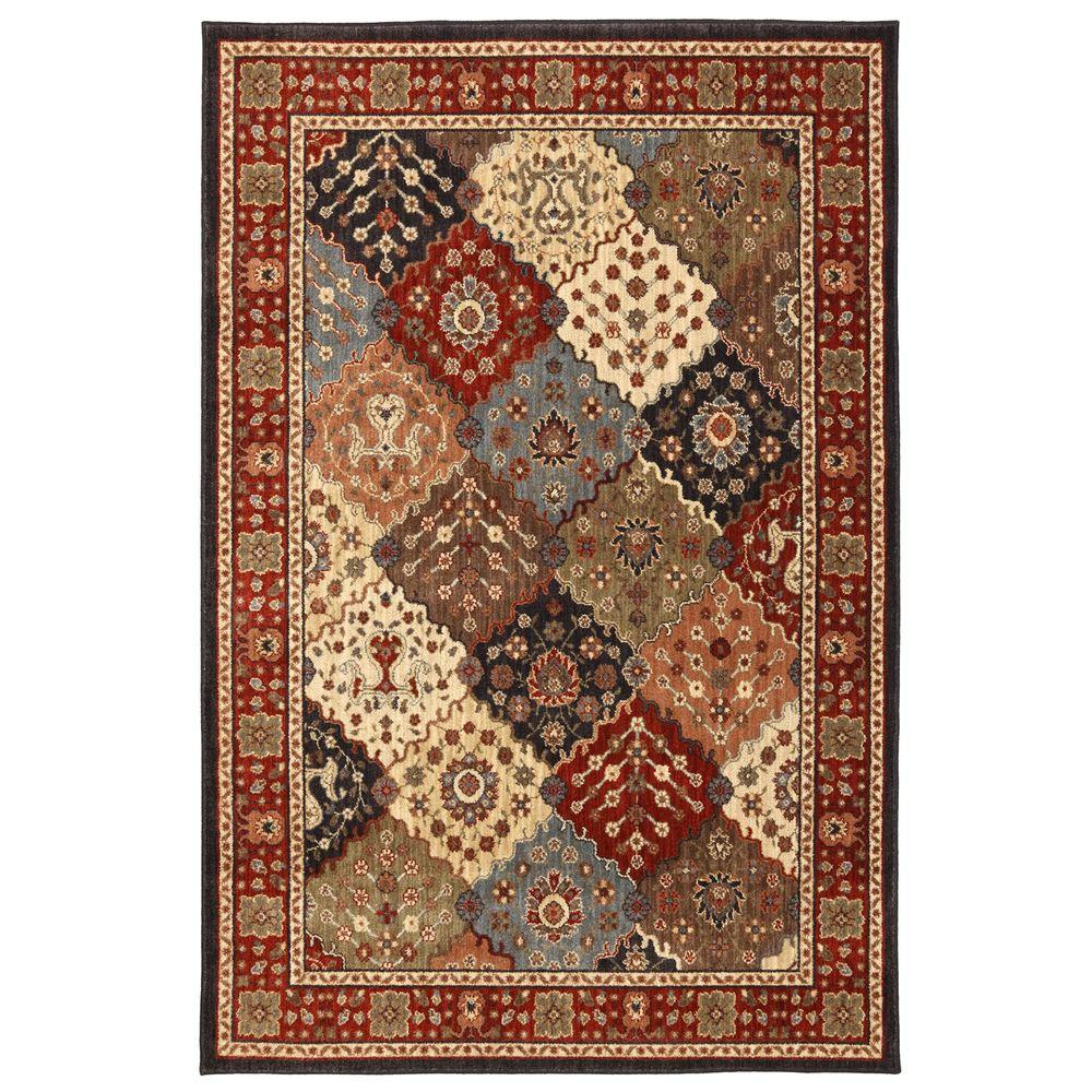 Mohawk Home Pemberton Carmin 3 ft. 4 in. x 5 ft. Area Rug