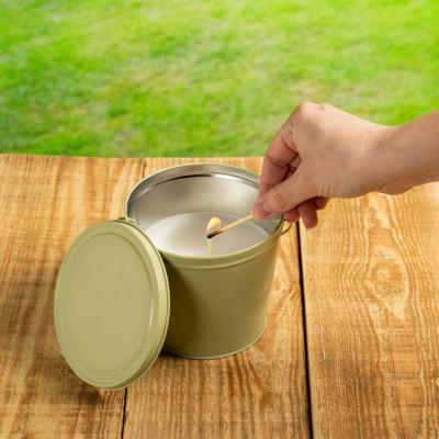 Citro Guard 17 oz. Candle in Tan