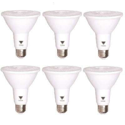 75-Watt Equivalent PAR30 Dimmable 850-Lumen LED Light Bulb Daylight (6-Pack)