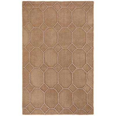 Zone Beige 9 ft. x 12 ft. Area Rug