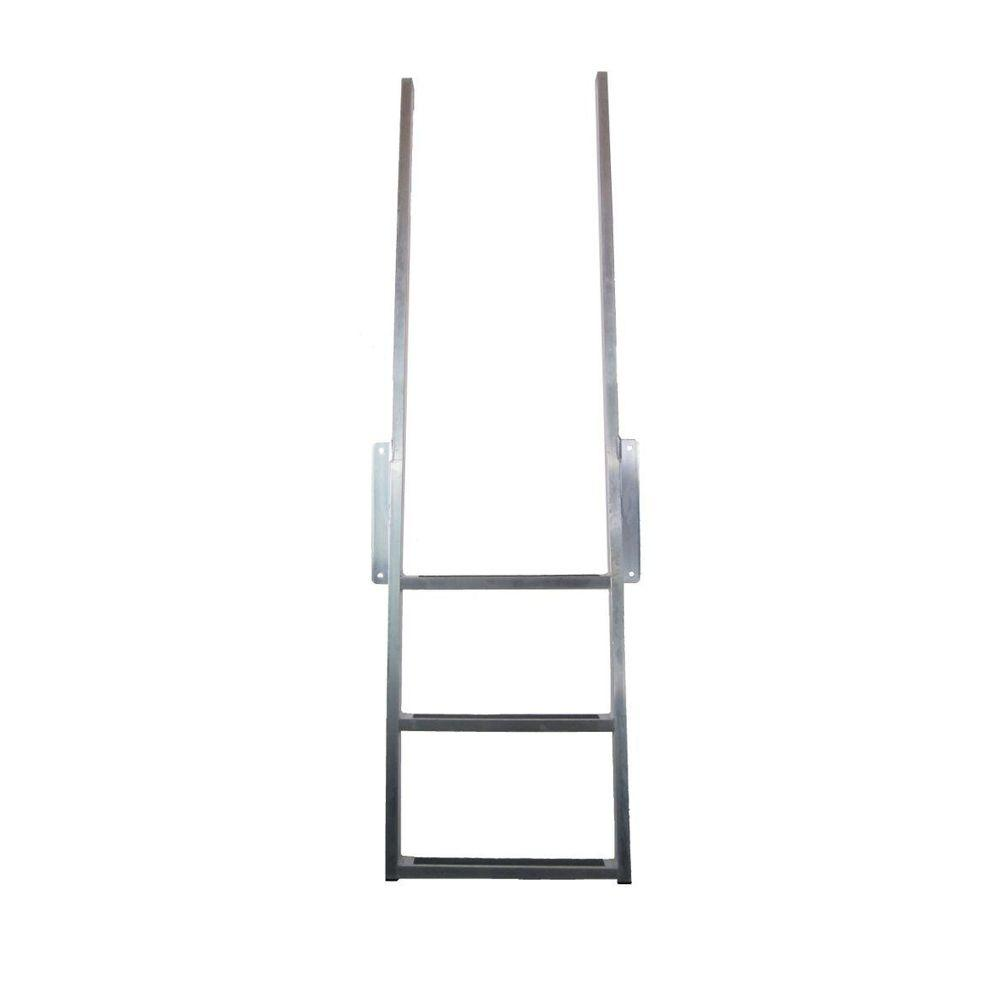 Patriot Docks Aluminum Ladder 3 Step