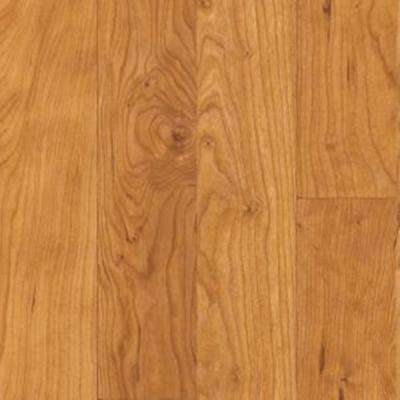 Native Collection II Natural Cherry Laminate Flooring - 5 in. x 7 in. Take Home Sample