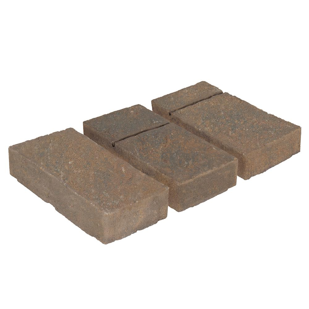 Valestone Hardscapes Domino 6 in. x 12 in. Fossil Beige Brown Concrete Paver (240 Pieces / 120 sq. ft. / Pallet)