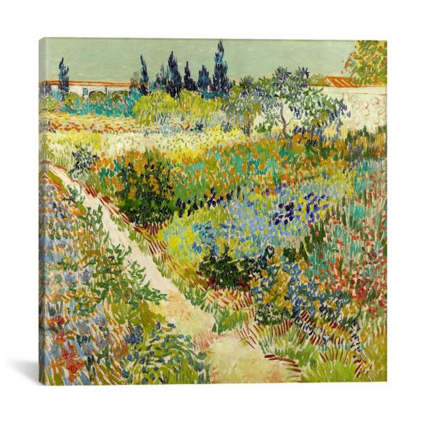 Icanvas The Garden At Arles By Vincent Van Gogh Wall Art 14340 1pc3 12x1 The Home Depot