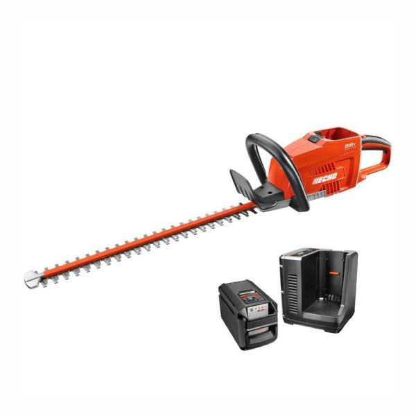 24 in. 58-Volt Lithium-Ion Brushless Cordless Hedge Trimmer