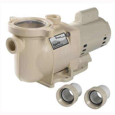 SuperFlo 1-1/2 HP Single Speed Pool Pump