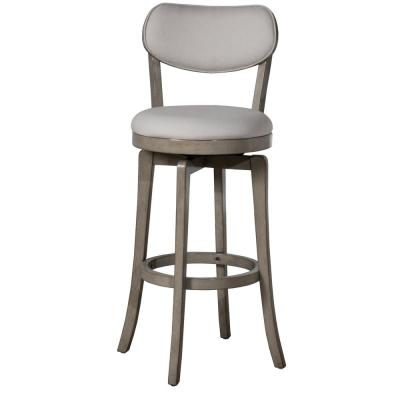 Sloan 25.25 in. Aged Gray Counter Stool