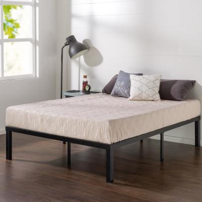 Luis Quick Lock 14 Inch Metal Platform Bed Frame, King