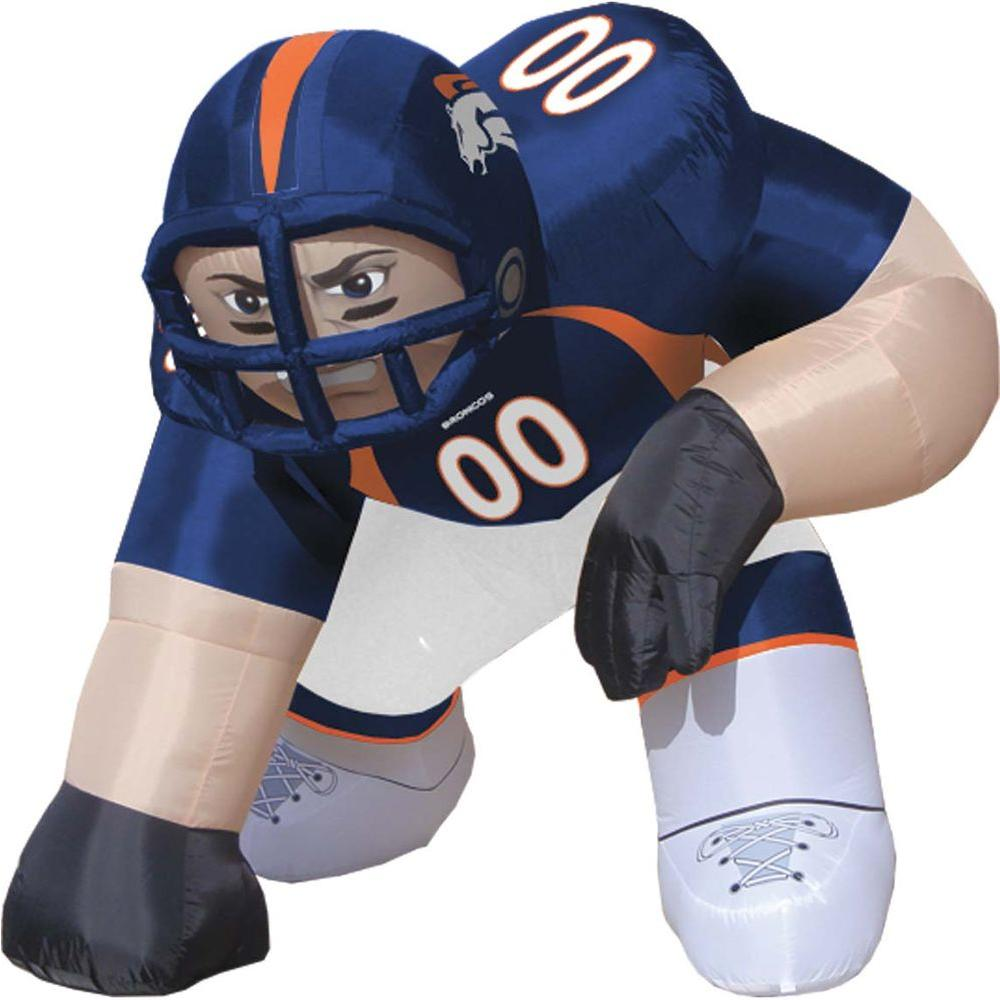 null 5 ft. Inflatable NFL Denver Broncos Player Bubba - $99 VALUE-DISCONTINUED