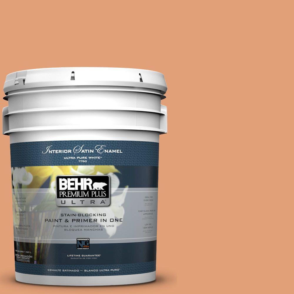5-gal. #M220-5 Roasted Seeds Satin Enamel Interior Paint