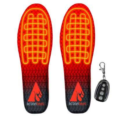 Large/X-Large 3.7V Rechargeable Heated Insoles