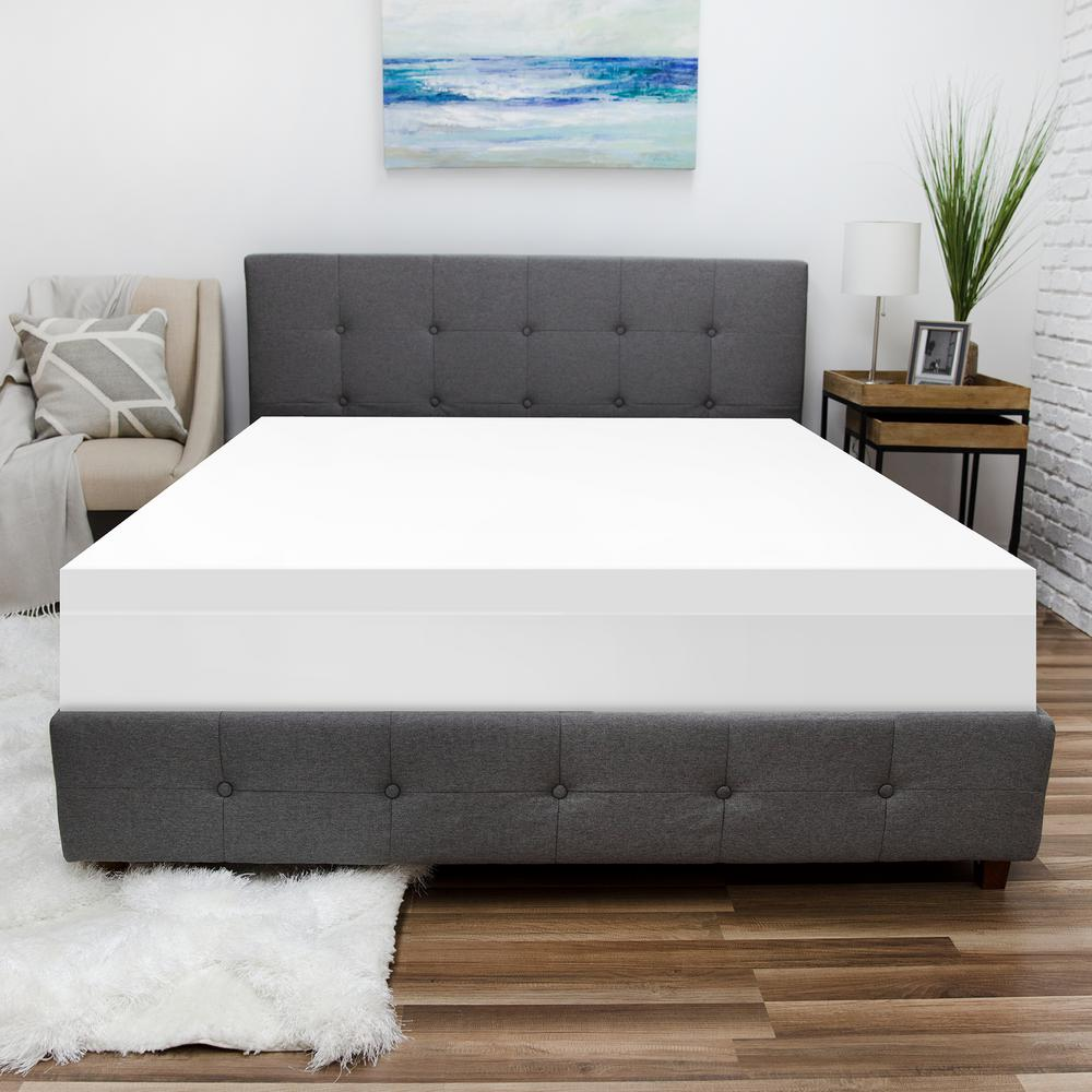 Biopedic Essentials Polyester Waterproof Twin Mattress Protector 91102 The Home Depot