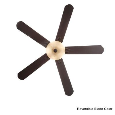 Asbury 60 in. LED Oil Rubbed Bronze Ceiling Fan with Light Kit Works with Google Assistant and Alexa
