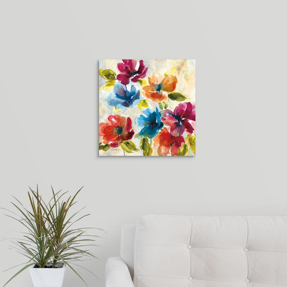 """Color My World I"" by Carol Robinson Canvas Wall Art"